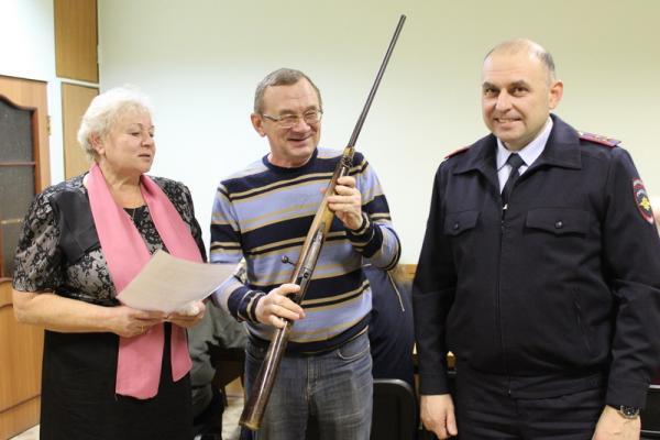 Музей полиции Каменска-Уральского пополнился уникальным экспонатом...