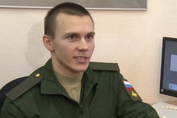 Сергей Еремеев из Каменска-Уральского оправился служить в «интеллектуальных» войсках...