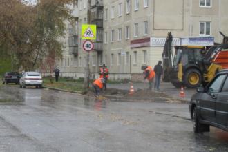 Новый светофор на перекрестке улиц Каменская - Белинского